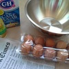 卵10個と新聞紙、あーしてこーして、出来上がったのは・・・巨大○○○○\(^o^)/!