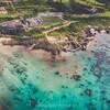 まるでプライベートビーチ!シギラビーチでドローン空撮【沖縄・宮古島】