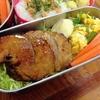 【1食147円】厚切りチャーシューステーキバーガー弁当レシピ~甘辛味+ちょいマヨが決めて~【パパ手作り節約弁当】
