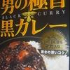 カレー生活(番外レトルトカレー編)11品目 meiji 男の極旨 黒カレー(中辛) 198+税円