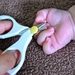 新生児の爪切りは赤ちゃん用ハサミがオススメ!切るタイミングは?