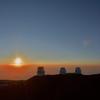 「マウナケア山頂」標高4205mからの絶景夕陽~ 「サンセット&星空観測ツアー」に参加して!!