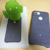 【レビュー】Google Pixel3aの純正ファブリックケースはかわいいけど汚れが心配