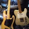 ギター、ベースのメンテと指慣らし