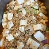 鶏ナンコツ麻婆豆腐