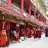 甘孜の街歩き