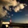 ハワイアン航空での帰国便。