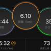ジョギング6.10km・静岡2日前
