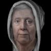 313年前の中世の魔女顔復元