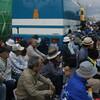 400人が集まったキャンプ・シュワブゲート前