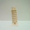 みんなもペーパーナノで遊ぼうよ!『ピサの斜塔』作りました。