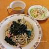 【サイゼリヤ】ランチ ほうれん草のスパゲッティがまさかの和風でおいしい