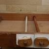 織り台と教室