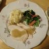 アメリカで簡単夕食 ロティサリーチキン