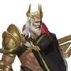 【新ヒーローデザイン】黄金に輝く三叉の矛を操る戦士!