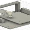 スマホ操作ロボット~3Dモデルでのメカ設計とX軸の動作確認~