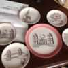 森永製菓 で  ハローキティの皿のセット が当選