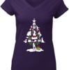 Amazing Broadway Musical Theatre Christmas Tree shirt