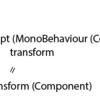 Unityで様々なObjectにアクセスする方法