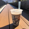 「クィクリー石狩街道店」仙草豆乳