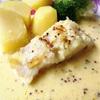 白身魚のソテーに合わせるマスタードクリームソース〜〜ドイツの学年末の様子