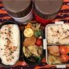 冷凍食品大活躍弁当と豪徳寺の招き猫
