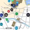 本郷、神田界隈IT企業地図を描きました