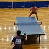 安藤大貴選手(藤ミレニアム)のシングルス2回戦・大阪国際招待卓球選手権