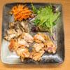 鶏肉と舞茸のバリバリ揚げ。