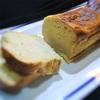 シナモン、オレンジ風味のヨーグルトケーキ