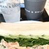 これ食べれる6 DEAN & DELUCA スモークサーモン&クリームチーズサンド Smoked salmon & Cream cheese sandwich