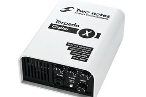 TWO NOTESから、ロード・ボックス/スピーカー・シミュレーターTorpedo Captor Xの16Ωモデルが登場