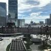 新東京駅舎を眺めながらのランチ☆