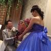 【結婚式当日】簡単なレポ*ドレス当て~送賓編