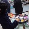 二人で朝ごはん作ってくれた(^^)