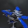 風を切る蒼剣の翼