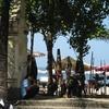 インドネシア旅行記【バリ編】 クタ Kuta 市街の様子 その③ クタ中心地からビーチに伸びる通りは観光地化が進んできれいなエリア