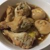 手羽元とゆで卵の煮物|糖質制限レシピ