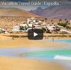 白い砂丘と青い海 スペイン領カナリア諸島の休日