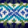 棒針編みで編み込み模様を編むときのコツ(横に糸を渡すとき)