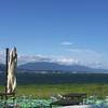 琵琶湖に来たら、ココ!これでもか!!というくらいに膨らんだパンケーキが美味しいカフェ♡