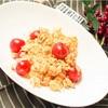 包丁まな板なしで簡単!ミニトマトと卵のオイマヨ炒めのレシピ