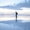 時期が悪くてもこんなに綺麗!ウユニ塩湖で撮れた写真を載せてみる。