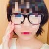 ウェリントン型、ブルーライトカット眼鏡