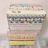 「mt」の箱にマスキングテープを貼るだけ整理BOX