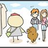 【犬漫画】通りすがりに触りたくなる犬の触り方