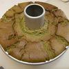 抹茶のシフォンケーキ。