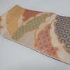 【袋帯】古典柄の雪輪が個性的な川島織物の袋帯