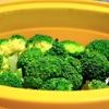 シリコンスチーマーを使ってラクラク時短蒸し野菜料理