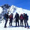北アルプス 五竜岳 雪山テント泊 ② 2021.02.13-14